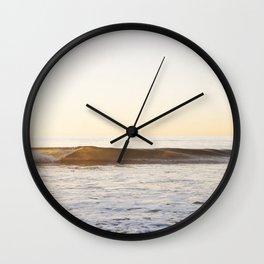 Beach Wave Wall Clock