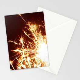 Golden Summer Sparkler Stationery Cards