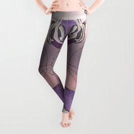 Jester's Dog/Wolf support Leggings