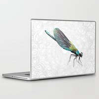 dragonfly Laptop & iPad Skins featuring Dragonfly by Matt McVeigh