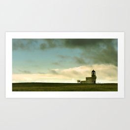 The Brough of Birsay Light Art Print