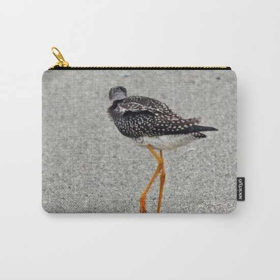 Greater Yellowlegs  Walks Away Carry-All Pouch