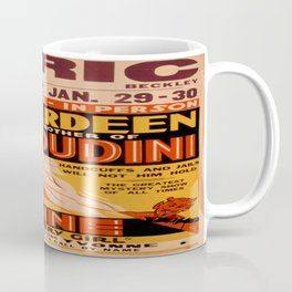 Vintage poster - Hardeenm Brother of Houdini Coffee Mug
