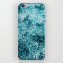 Blue Ocean Waves iPhone Skin