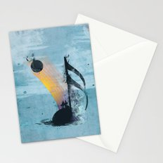 summer tune Stationery Cards