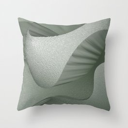 SoundScape 6 in Fog Throw Pillow