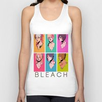 bleach Tank Tops featuring bleach by aspiin