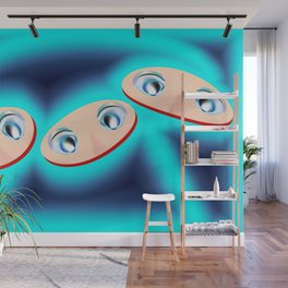 1407 Observer from the future ... Wall Mural
