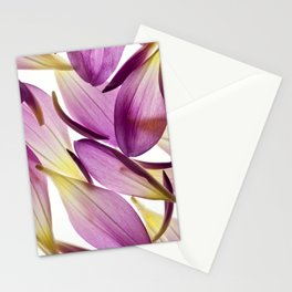 Dahlia Petals Stationery Cards