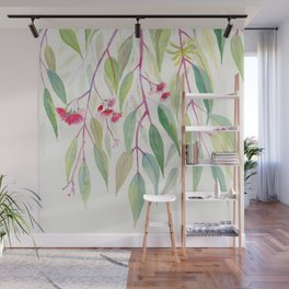 Eucalyptus Leaves Wall Mural