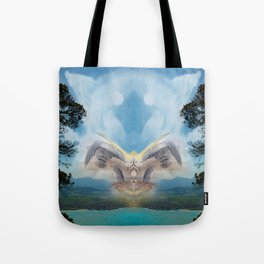 Support from Above Tote Bag
