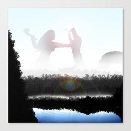 """Uprising""   Digital Art Canvas Print"