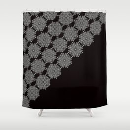 Laced up Shower Curtain