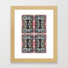 OR/WELL:  Windows & Mushrooms Framed Art Print