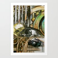 Everything Changes Art Print