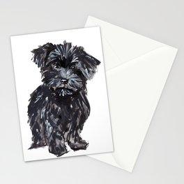 Yorkiepoo Pups Stationery Cards