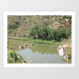 Just Another Spanish River Art Print