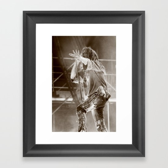Rob Zombie II Framed Art Print