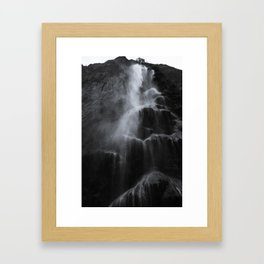 Cascadas Framed Art Print