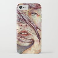 faces iPhone & iPod Cases featuring Opal by Michael Shapcott