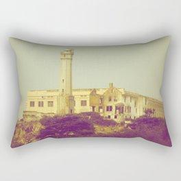 Alcatraz Prison Rectangular Pillow