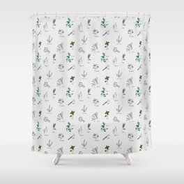 Herb Garden Shower Curtain