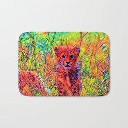 AnimalColor_Cheetah_007_by_JAMColors Bath Mat