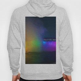 Rainbow Niagara Falls Waterfall (Color) Hoody