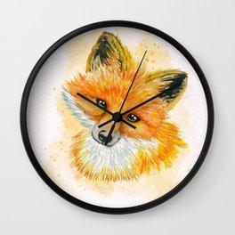 So Foxy Wall Clock