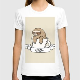 Sloffee Sloth T-shirt