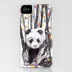 Panda Bear // Endangered Animals Slim Case iPhone (4, 4s)