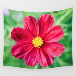 Cosmos Flower in the Garden Wall Tapestry