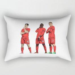 Coutinho, Mané, Firmino Rectangular Pillow