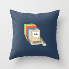 Macintosh Cascade Throw Pillow