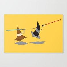 The Cone Wars Canvas Print