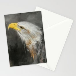 The Mighty Bald Eagle Stationery Cards