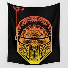 Mandala Boba Fett - Sunset. The baddest bounty hunter in the land. Wall Tapestry