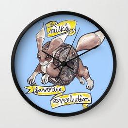 Milk's Favorite Eeveelution Wall Clock