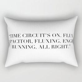 Flux Capacitator Rectangular Pillow