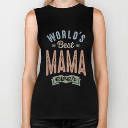 Best Mama Biker Tank