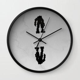 Ambigram Titanfall Wall Clock
