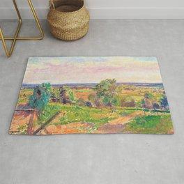 Spencer Gore - An Extensive Landscape in Yorkshire - Digital Remastered Edition Rug