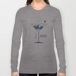 Fresh Air Cocktail Long Sleeve T-shirt