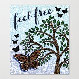 Butterfl Canvas Print