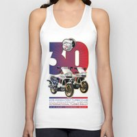 honda Tank Tops featuring Honda First Turbo Club by Saddle Bums