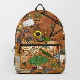 Witch tools Backpack
