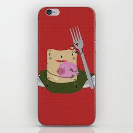 Tamal con cerdo iPhone Skin