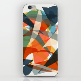 Abstract Fish iPhone Skin