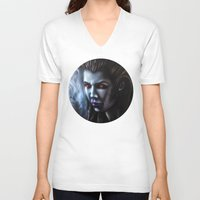 starcraft V-neck T-shirts featuring Kerrigan  by Kanelov