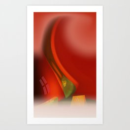 for sheer curtains and more -5- Art Print